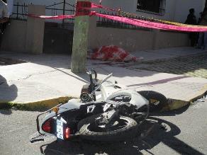 Palpa: Escolar muere tras embiste de patrullero a moto