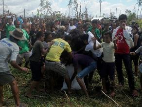 ONU: Llega a 13 millones cifra de afectados por tifón Haiyan en Filipinas