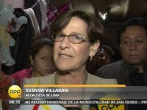 Villarán confía en que gestión de Albán recupere confianza en PNP