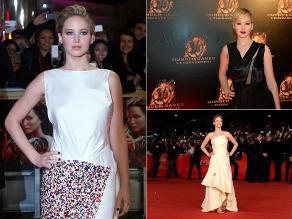 Jennifer Lawrence: seis ciudades, siete looks de ´la chica en llamas´