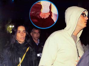 ¿Ya son pareja?: Gianella Neyra y Christian Rivero caminan de la mano