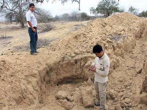 Lambayeque: Arqueólogos comprueban daños de plataforma arqueológica