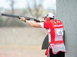 Perú obtiene medalla plateada en tiro deportivo en los Bolivarianos