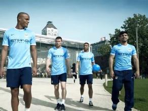 Manchester City invadió Nueva York para promocionar su nuevo equipo