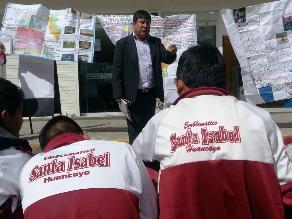 Huancayo: Suspenden clases en más de 120 centros educativos por paro