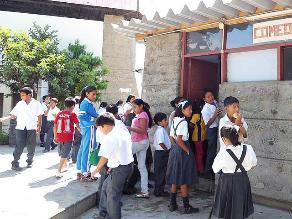 Huaylas: Mil 600 alumnos estudian en condiciones inadecuadas