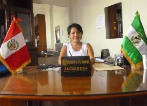 Alcaldesa de Tocache deberá pagar 20 mil soles como reparación civil