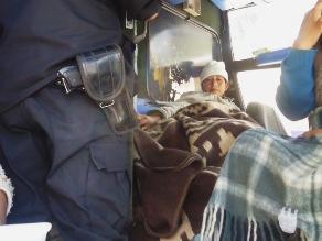 Se llevan cerca de 100 mil soles en asalto a bus en la Interoceánica