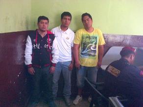 Apurímac: Capturan a delincuentes que asaltaron cooperativa