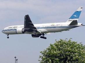 Aerolínea kuwaití reanuda sus vuelos a Irak después de dos décadas