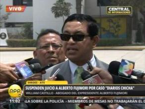 Castillo: Si la sentencia dice que absolví a López, seguro lo absolví