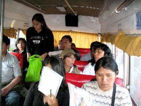 Más de 40 pasajeros de bus son asaltados en carretera Interoceánica