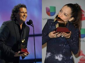 Conoce a los ganadores del Grammy Latino 2013
