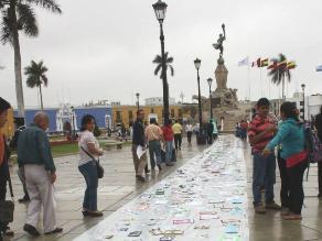 Trujillo: Celebran Día Mundial de la Filosofía con alfombra filosófica