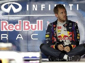 Sebastian Vettel preocupado por las lluvias en el GP de Brasil