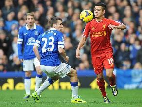 Liverpool evitó la derrota sobre la hora y empató 3-3 con Everton