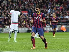 Barcelona goleó 4-0 al Granada y mantiene el liderato en España