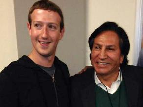 Expresidente Toledo se encontró con Mark Zuckerberg en Silicon Valley