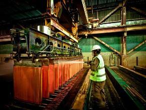 Exportaciones mineras caen 20,4% en setiembre
