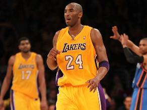 Kobe Bryant renovó por dos años más con Los Angeles Lakers