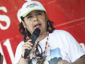 Ana Jara anuncia campaña contra la violencia de la mujer