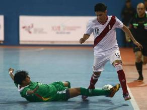 Juegos Bolivarianos: Perú cayó en futsal ante Colombia y luchará bronce