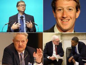 Filántropos: los diez estadounidenses que más dinero donaron en 2012