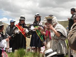 Junín: Festival de la maca se inició con pago a la tierra