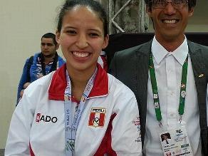 Elizabeth Alvarado obtuvo oro en taekwondo para Perú en Bolivarianos