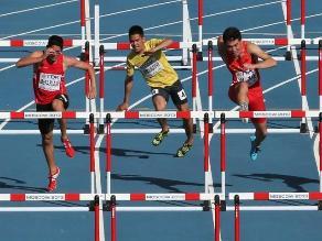 Jorge McFarlane obtiene oro en atletismo para Perú en los Bolivarianos