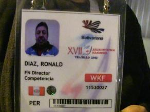 Trujillo: director de vóley playa de Juegos Bolivarianos está grave