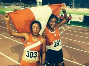 Inés Melchor gana oro para Perú en 10 mil metros planos de los Bolivarianos