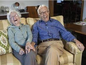La pareja más longeva de los EEUU: ´Hemos visto cambiar el mundo juntos´