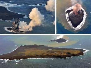 Japón: Nueva isla originada de una erupción volcánica será permanente
