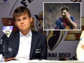 Estrella del ajedrez mundial detesta que lo comparen con Messi