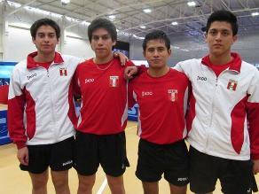 Bolivarianos: Perú gana bronce en dobles de tenis de mesa masculino