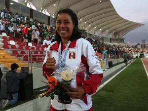 Juegos Bolivarianos 2013: Silvana Segura consigue plata en salto triple
