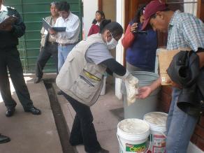 Junín: inmovilizan alimentos hallados en almacén insalubre