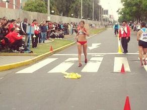 Bolivarianos: Kimberly García obtuvo medalla de bronce en marcha