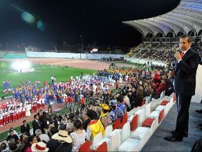 Bolivarianos: Estadio Mansiche estará abarrotado para clausura