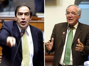 Proponen a Lescano o García Belaunde para comisión López Meneses