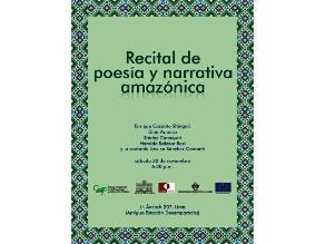 Recital poético y narrativo reúne voces indígenas de nuestra Amazonía