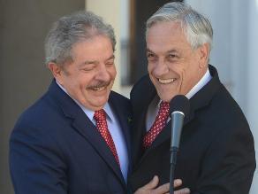Piñera sobre Lula: Es un gran líder de América Latina y del mundo