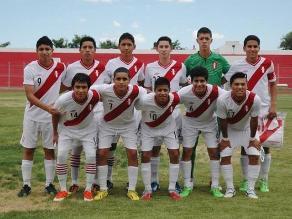 Perú superó a Chile y clasificó a la final del Sudamericano Sub 15
