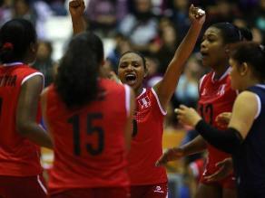 Perú derrotó a Colombia y va por el oro en voleibol de los Bolivarianos