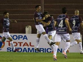 Lanús venció a Libertad y jugará final de Sudamericana ante Ponte Preta