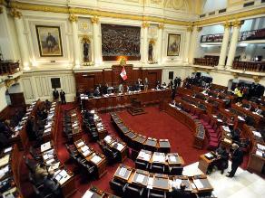 El Pleno del Congreso aprobó el Presupuesto del Sector Público 2014