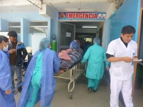 Al menos 10 heridos deja despiste de bus en Chincheros