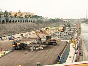 Suspenderán trabajos en tramo de Vía Parque Rímac