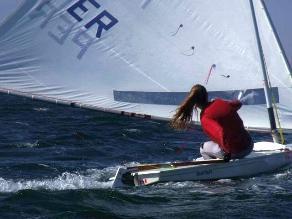 Stephanie Zimmermann ganó oro en vela para Perú por los Bolivarianos